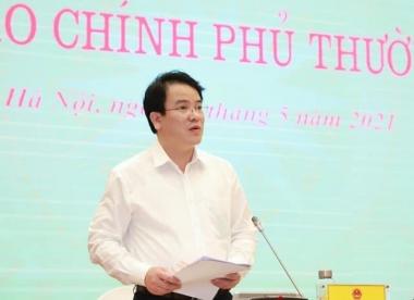 """Thứ trưởng Trần Quốc Phương: Rất mong các nhà báo không dùng khái niệm """"gói hỗ trợ"""""""