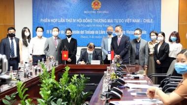 Thúc đẩy hợp tác Việt Nam - Chile về kinh tế, thương mại và đầu tư