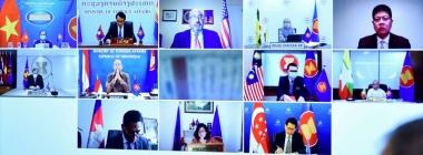 ASEAN-Mỹ thắt chặt hợp tác về thương mại, đầu tư