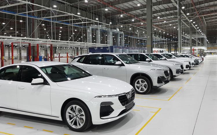 Tháng 4/2021: Sản lượng tiêu thụ ô tô tăng 155%