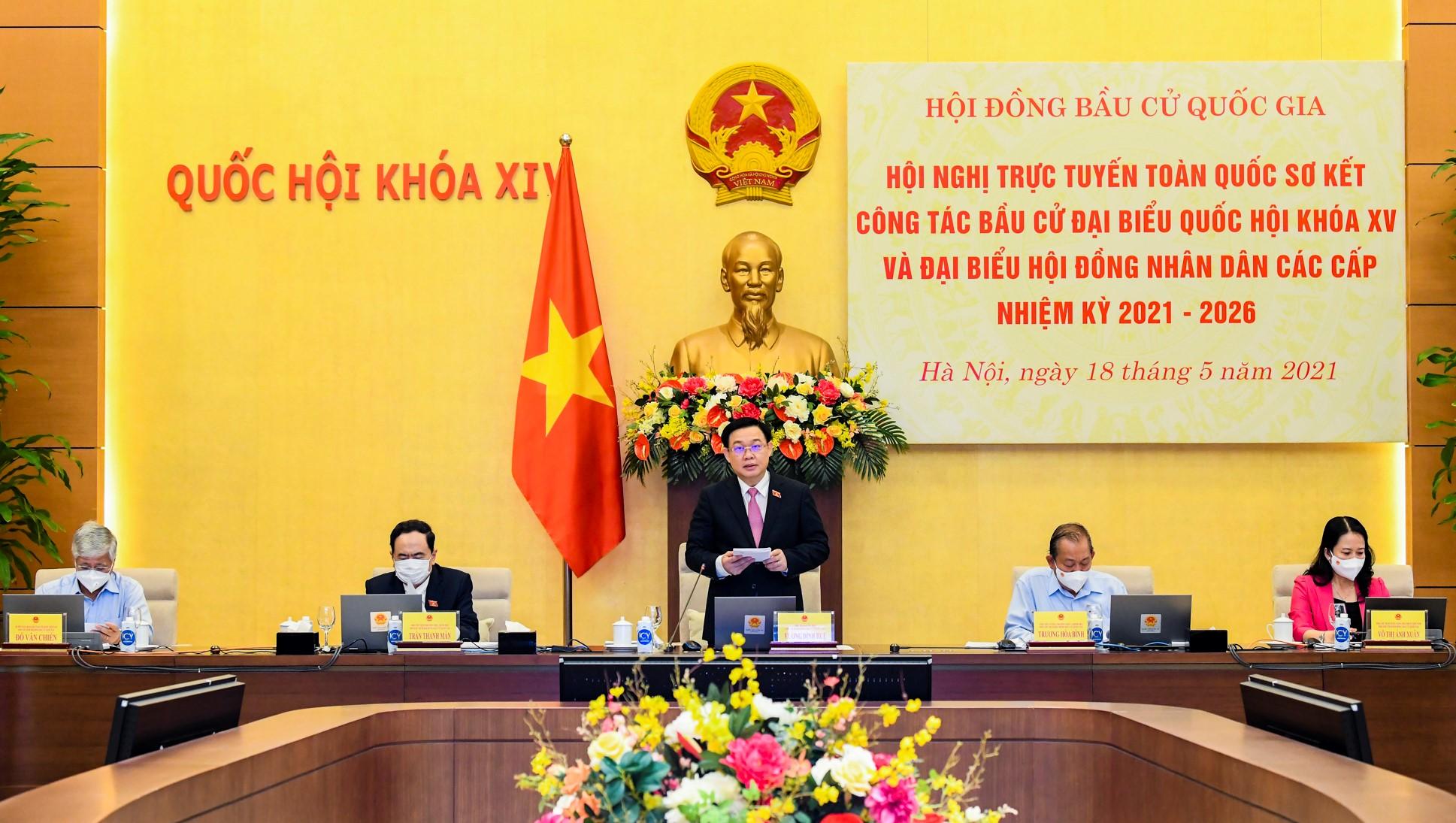 Chủ tịch Quốc hội Vương Đình Huệ: Sẵn sàng cho tổ chức bầu cử vào ngày 23/5