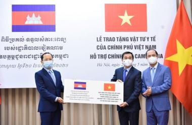 Việt Nam tiếp tục hỗ trợ Campuchia ứng phó với dịch Covid-19