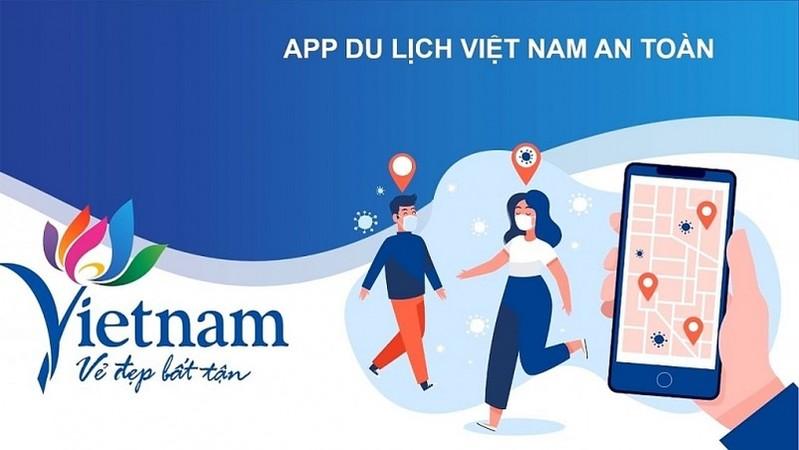 """Ra mắt ứng dụng """"Du lịch Việt Nam an toàn"""""""