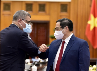 Việt Nam - Vương quốc Anh hợp tác ứng phó với biến đổi khí hậu, hướng tới Hội nghị COP26