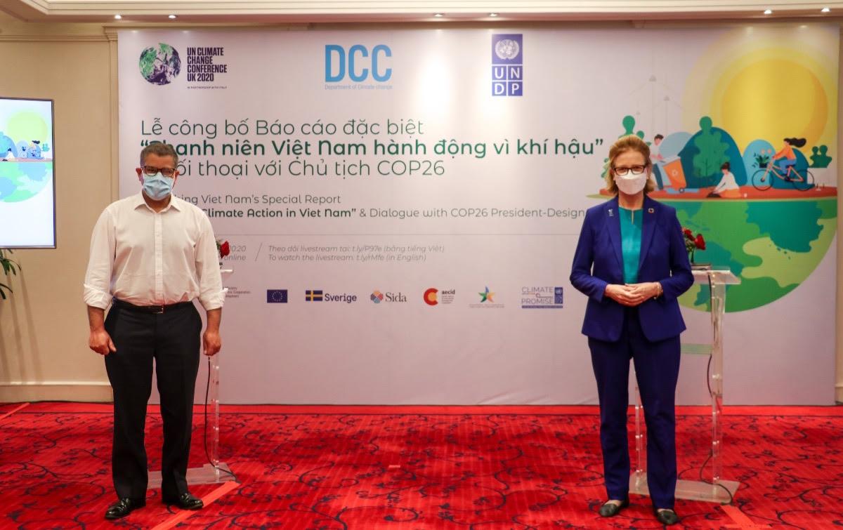 """Công bố Báo cáo """"Thanh niên Việt Nam hành động vì khí hậu"""""""