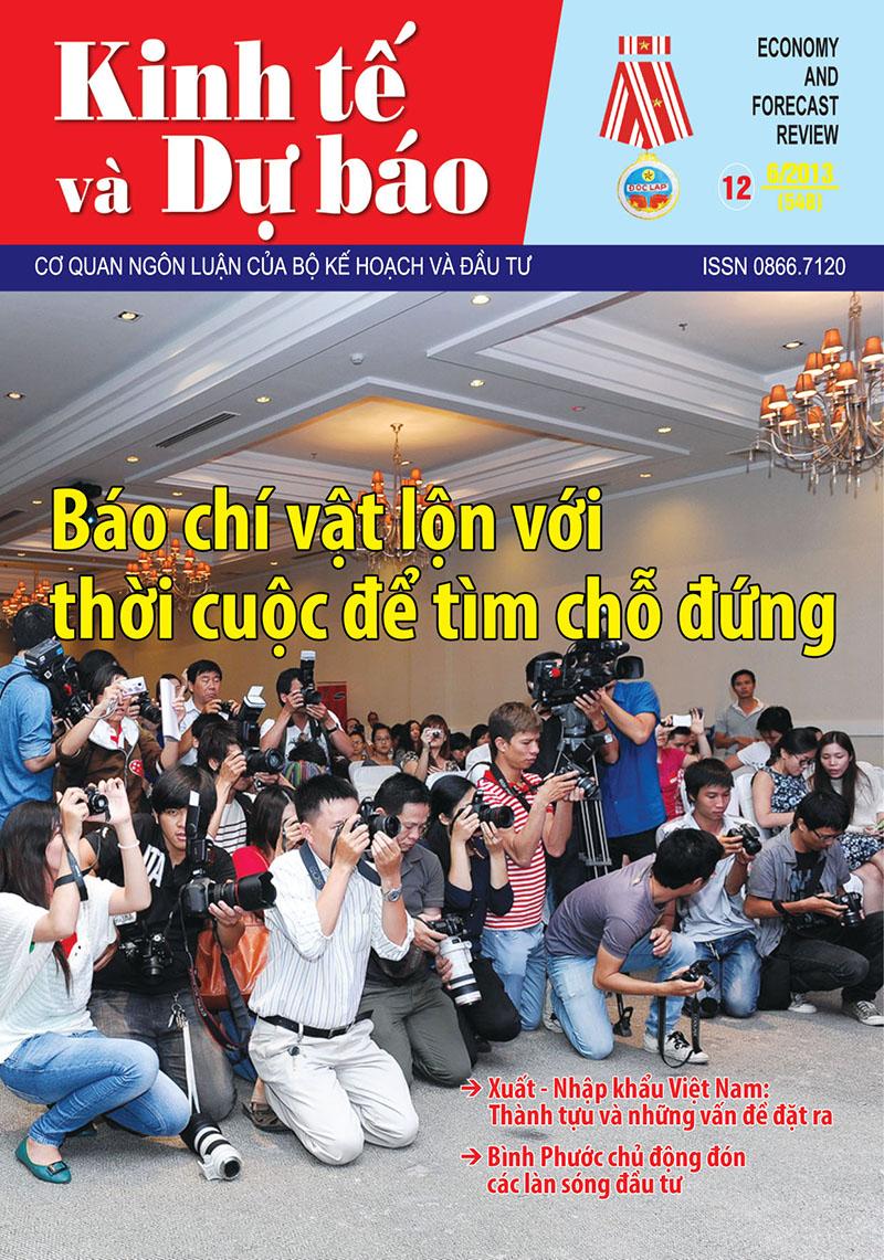Giới thiệu Tạp chí Kinh tế và Dự báo số 12 (548)
