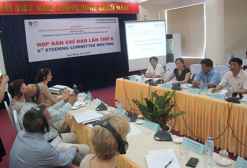 Bổ sung vốn Dự án khám chữa bệnh cho người nghèo tại Cao Bằng và Bắc Kạn