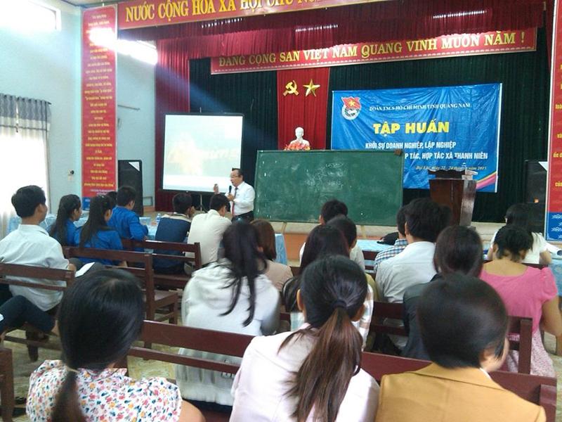 Quảng Nam: Tập huấn cho thanh niên về thành lập THT, HTX