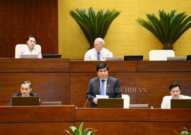 Bộ trưởng Bộ KH&ĐT giải trình thêm về  Dự thảo Luật sửa đổi các luật liên quan đến Luật Quy hoạch
