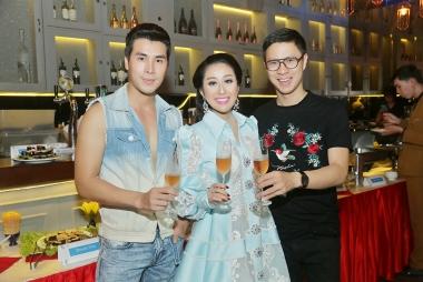 Dàn sao Việt tham dự tiệc sinh nhật của Nữ hoàng sắc đẹp Kim Trang