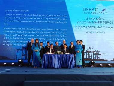 Dấu ấn 5 năm thu hút đầu tư vào KKT Đình Vũ - Cát Hải  và các KCN TP. Hải Phòng