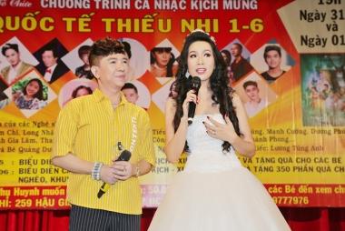 NSUT Trịnh Kim Chi tổ chức trao quà cho trẻ em nhân ngày 1/6
