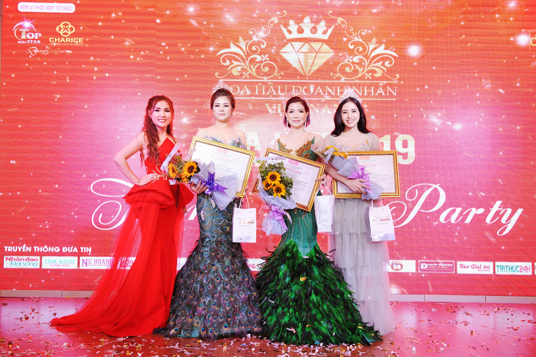 Sang trọng đêm Thanks Party Hoa hậu Doanh nhân Việt Nam 2019