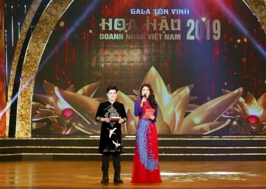Chân dung nam MC tạo dấu ấn trong Hoa hậu Doanh nhân Việt Nam 2019