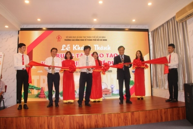 Trường Cao đẳng Kinh tế TP.HCM: Khánh thành Trung tâm đào tạo và thẩm định nghề du lịch