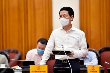 """Bộ trưởng Nguyễn Mạnh Hùng: """"Muốn bình thường hơn, mỗi người dân phải dùng công nghệ"""""""