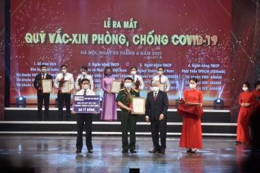 """MB ủng hộ 60 tỷ đồng """"chung tay"""" cùng Quỹ Vaccine phòng COVID-19"""