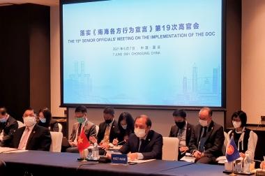 ASEAN và Trung Quốc nhất trí thúc đẩy tiến trình đàm phán COC