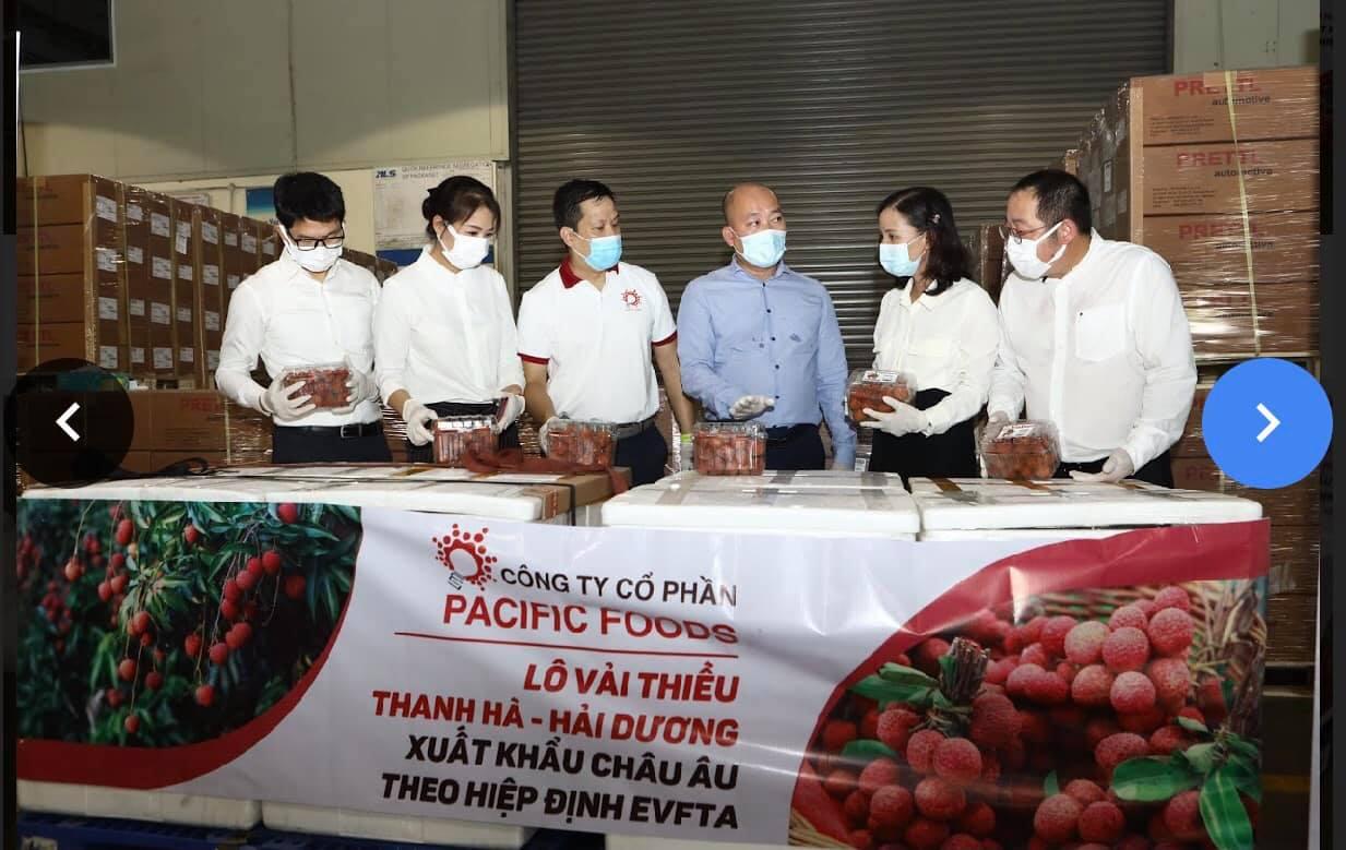 """Vải thiều Việt Nam """"nhận trái ngọt"""" từ EVFTA"""
