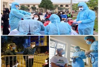 Chế độ mới cho người tình nguyện tham gia phòng, chống dịch Covid-19