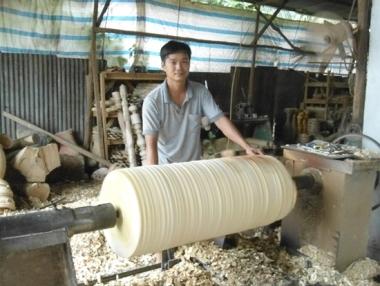 Dấu ấn từ đồ gỗ mỹ thuật Nguyên