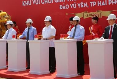 Hải Phòng khởi công dự án tỷ đô trên đảo Vũ Yên