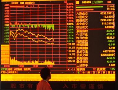 """Bong bóng thị trường chứng khoán Trung Quốc: Đang """"vỡ""""!"""