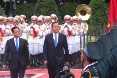 Thủ tướng Anh lần đầu tiên sang thăm và làm việc tại Việt Nam
