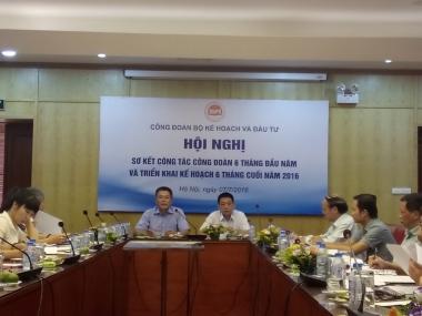 Hội nghị sơ kết công tác công đoàn 6 tháng đầu năm 2016