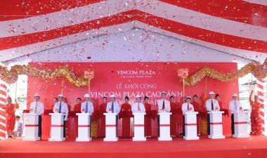 Khởi công TTTM Vincom đầu tiên tại tỉnh Đồng Tháp