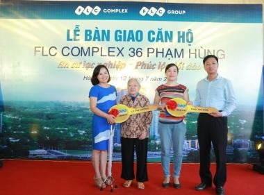 FLC Complex 36 Phạm Hùng chào đón những cư dân đầu tiên
