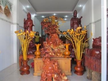 Khai trương cơ sở đồ gỗ mỹ nghệ Trường Tín tại TP.HCM