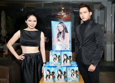 Lộ diện trai đẹp xuất hiện tại sự kiện của Ca sỹ Trang Thảo