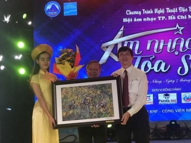 Đêm nhạc Âm nhạc Tỏa sáng để lại nhiều ấn tượng tốt đẹp trong lòng khán giả Đà Nẵng