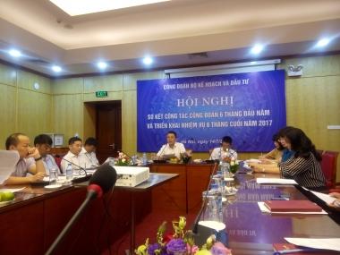 Hội nghị sơ kết công tác công đoàn 6 tháng đầu năm 2017