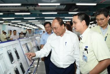 Tỷ lệ nội địa hóa của Samsung Việt Nam đạt 57%