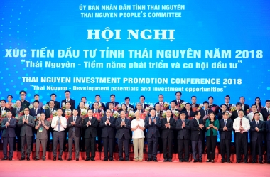"""Hơn 46.000 tỷ đồng vốn đầu tư """"rót"""" vào Thái Nguyên"""