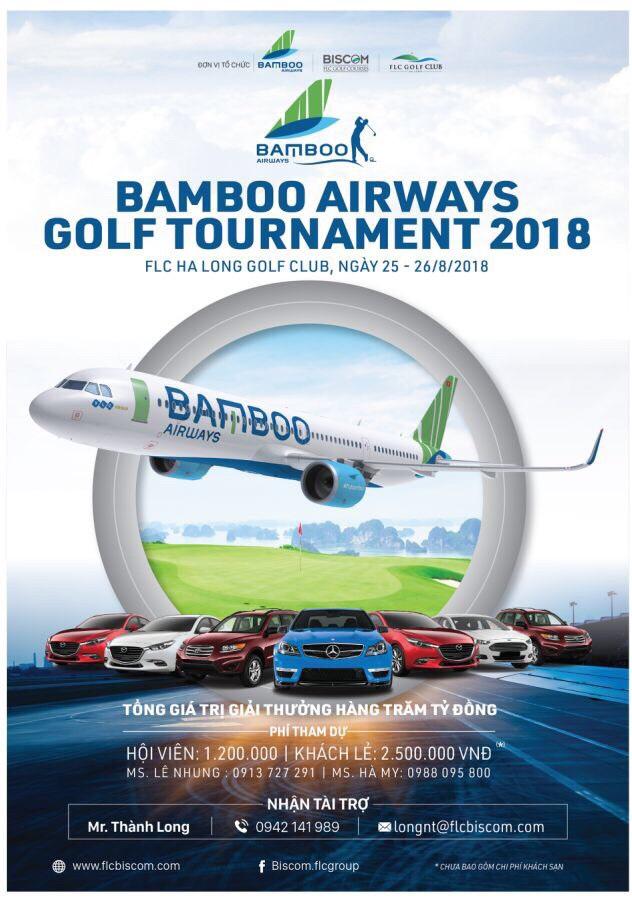 Bamboo Airways Golf Tournament 2018 được tổ chức tại FLC Ha Long Golf Club