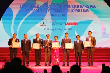 Tập đoàn FLC được vinh danh tại Giải thưởng du lịch Việt Nam năm 2018