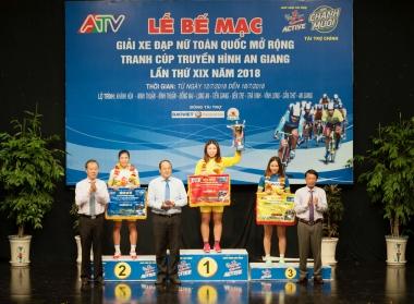 Nguyễn Thị Thu Mai trở thành quán quân giải đua xe đạp do Tân Hiệp Phát tài trợ