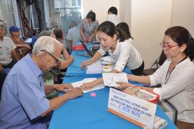 8 nhóm đối tượng được điều chỉnh lương hưu, trợ cấp BHXH