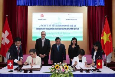 Thụy Sỹ hỗ trợ Việt Nam phát triển Khu công nghiệp sinh thái