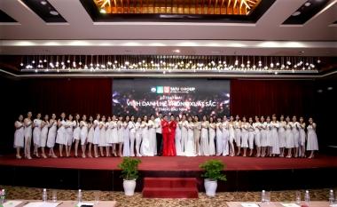 CEO Thái Ngân chi tiền tỷ trao thưởng cho hệ thống trong 6 tháng đầu năm