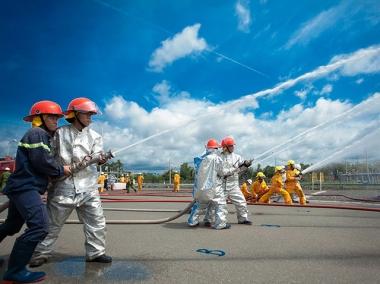 PV GAS thực hiện tốt công tác đảm bảo an toàn phòng cháy chữa cháy