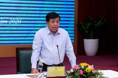 """Bộ trưởng Nguyễn Chí Dũng: Bộ KH&ĐT phải tham mưu """"trúng, đúng, kịp thời"""""""