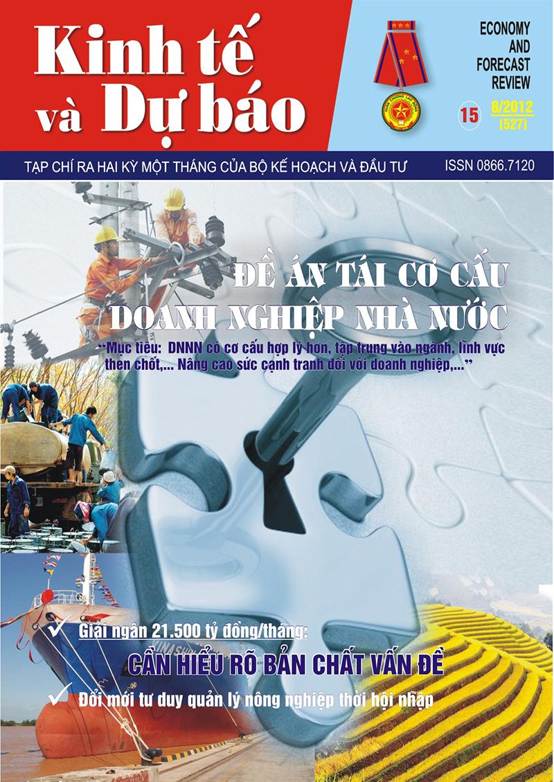 Giới thiệu Tạp chí Kinh tế và Dự báo số 15 (527)