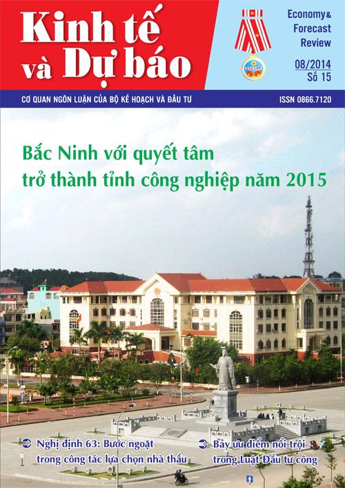 Giới thiệu Tạp chí Kinh tế và Dự báo số 15 (575)