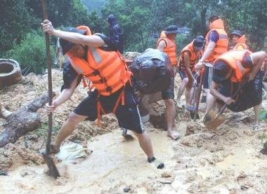 Chỉ đạo khắc phục hậu quả mưa lũ