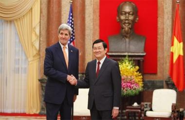 Ngoại trưởng John Kerry mong muốn thúc đẩy quan hệ Việt - Mỹ
