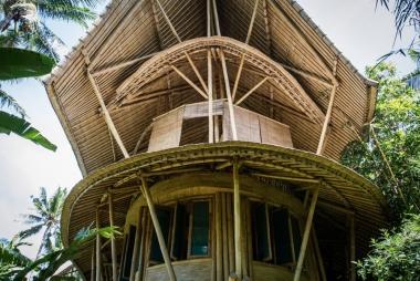 Khám phá ngôi làng tre mê hoặc của Bali